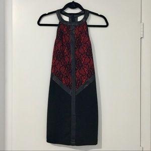 Black & Red Lace Dress